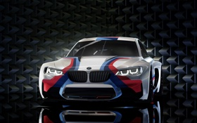 Обои Concept, Gran Turismo, 549hp, BMW Vision