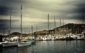Обои яхты, лодки, причал, порт, photographer, Mariluz Rodriguez
