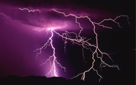Обои nature, picture, thunder