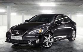 Картинка чёрный, Lexus, black, лексус, Sport, IS250, ZA-spec