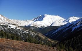 Обои горы, фото, обои, пейзажи, красота