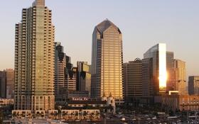 Картинка city, город, Калифорния, USA, США, California, San Diego