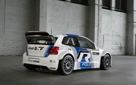 Обои Race, cars, auto, WRC, обои авто, Volkswagen Polo, Volkswagen Polo WRC
