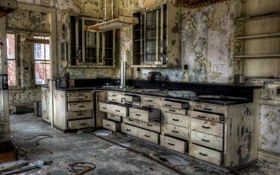 Обои комната, мебель, кухня