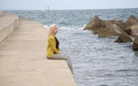 Обои актриса, Scarlett Johansson, блондинка, Скарлетт Йоханссон, Вики Кристина Басрелона