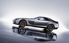 Картинка авто, машины, Mercedes, мерседесы, auto wallpapers 1920x1200, Mclaren SLR 722