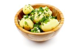 Картинка вкусная, картошка, отварная, вареная