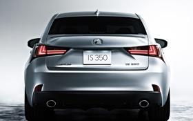Картинка car, машина, Lexus, вид сзади, IS 350