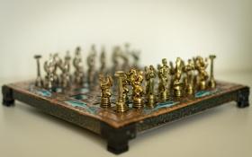 Обои фон, шахматы, доска