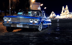 Обои авто, шевроле, Ola De Blue, Chevrolet, russia, swag, 1963