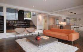 Обои house, room, interior
