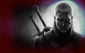 Обои The Witcher 3: Wild Hunt, The Witcher 3, Geralt, Geralt of Rivia, Ведьмак 3: Дикая ...