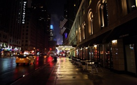 Обои ночь, нью-йорк, night, New York, nyc