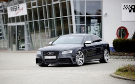 Обои Audi, ауди, спорт, RS5, Sportback, Rieger, 2014