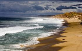Обои берег, океан, пейзажи, вода, вид, море, пляжи
