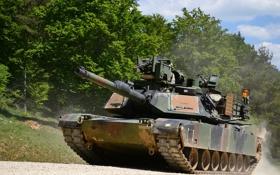 Обои танк, бронетехника, Abrams, Абрамс, M1A2