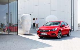 Обои опель, 2015, Opel, астра, Astra K