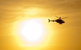 Обои авиация, фон, вертолёт