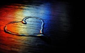 Обои цвета, макро, фото, фон, обои, сердце, пол