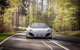 Картинка дорога, car, деревья, McLaren, автомобиль, Gemballa, MP4-12C