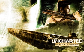 Обои JaKhris, uncharted, видеоигры