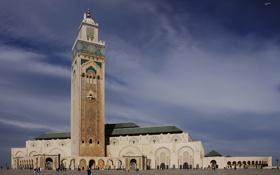 Картинка Марокко, Casablanca, Marocco, Касабланка, Мечеть Хассана II, Moschea di Hassan II