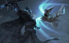 Обои Warcraft, diablo, Arthas, Arthas Menethil, Tyrael, Heroes of the Storm, Archangel of Justice