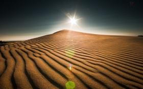 Картинка пейзаж, свет, небо, дюны