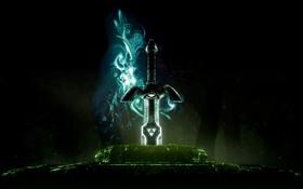 Картинка игры, обои, меч, Zelda