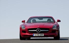 Обои дорога, машины, красный, дороги, тачки, Mercedes, мерседесы