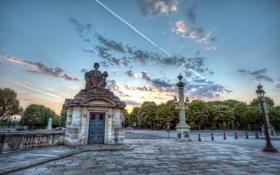 Обои Франция, Place de la Concorde, france, Paris, Париж