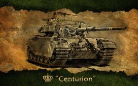 Обои Англия, арт, танк, Великобритания, танки, WoT, World of Tanks