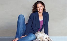Картинка Ashley Judd, милая, отдых, красавица