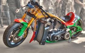 Обои байк, спортивный, мотоцикл, дизайн