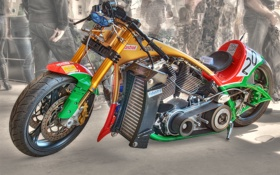 Картинка дизайн, HDR, мотоцикл, форма, байк, спортивный