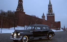 Обои фары, Кремль, автомобиль, black, 110, ЗиС