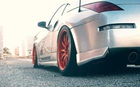 Картинка 350z, Nissan, дорога