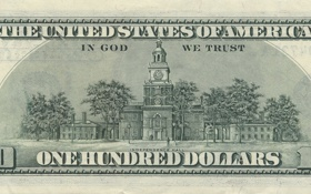 Картинка green, United States, note, dollar, God, America, public