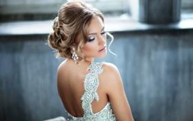 Картинка девушка, платье, блондинка, Екатерина Коба