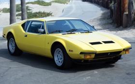 Обои машина, классика, 1973, De Tomaso, Pantera