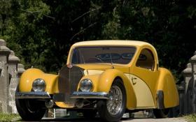 Обои Bugatti, 1936-1938, Type 57SC, Atalante