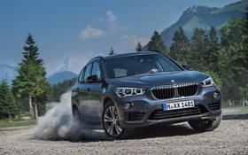 Обои бмв, BMW, xDrive, Sport Line, 2015, F48