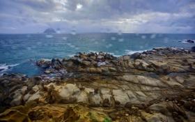 Картинка природа, камни, море