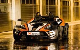 Картинка авто, капли, лужи, KTM, X-Bow