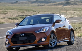 Картинка Hyundai, хёндай, Turbo, турбо, Veloster, велостер