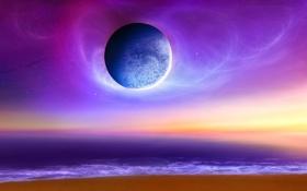 Обои Планета, Космос, Вселенная