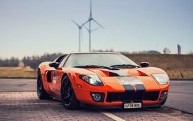 Обои Ford, car, машина, оранжевый, orange, auto, cars