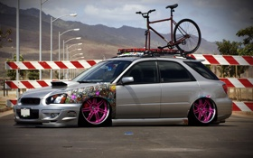 Обои Subaru, Impreza, Cars, STI, Tuning, JDM, Wagon