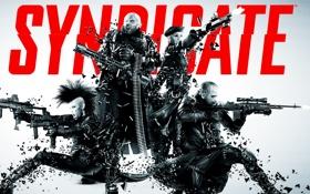 Обои Cyberpunk, шутер, Syndicate, EuroCorp, Синдикат, Starbreeze Studios