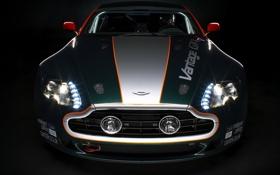 Обои чёрный, Vantage, астон мартин, Aston, Martin, black, GT4